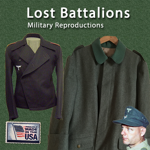 Lost Battalions site mobile banner